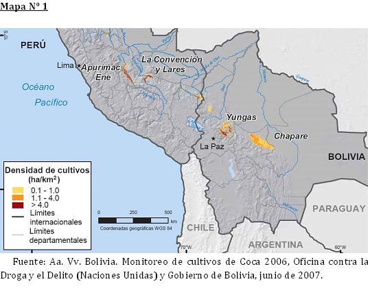 mapa lasa